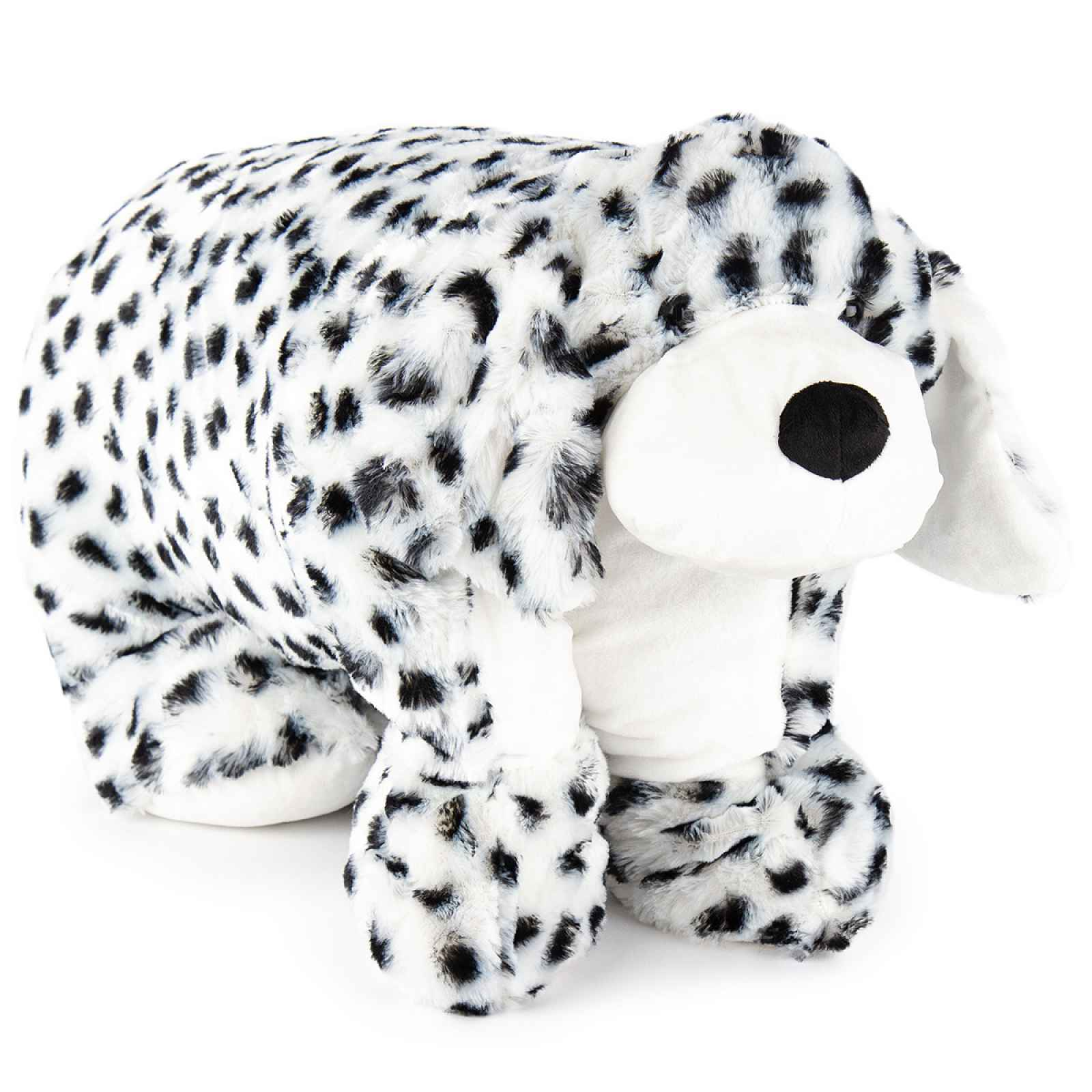 Bo-Ma Trading Plyšový dalmatin s knoflíkem, 55 x 75 cm