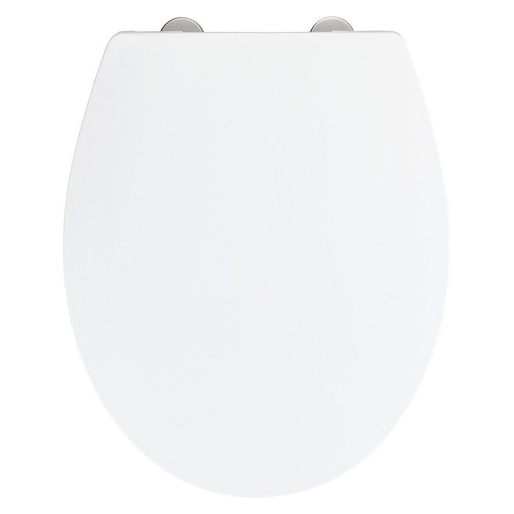 Bílé toaletní prkénko Wenko Ostuni Easy Close