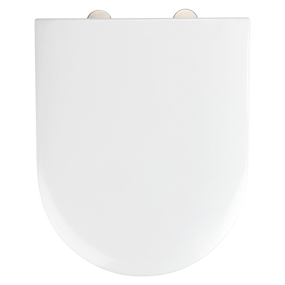 Bílé toaletní prkénko Wenko Exclusive V&B Subway