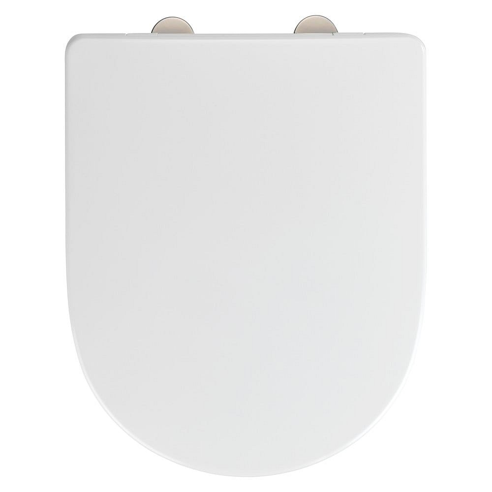 Bílé toaletní prkénko Wenko Exclusive V&B O.novo