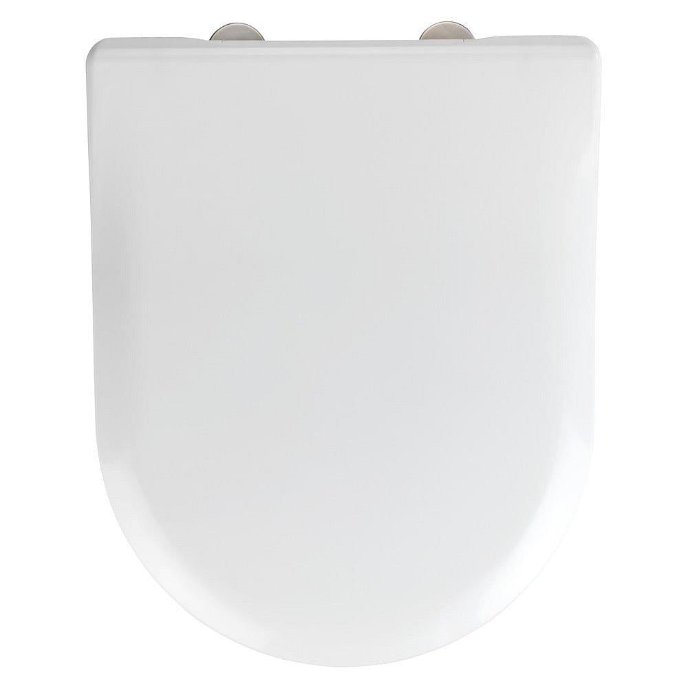 Bílé toaletní prkénko Wenko Exclusive V&B Subway 2.0 Slim