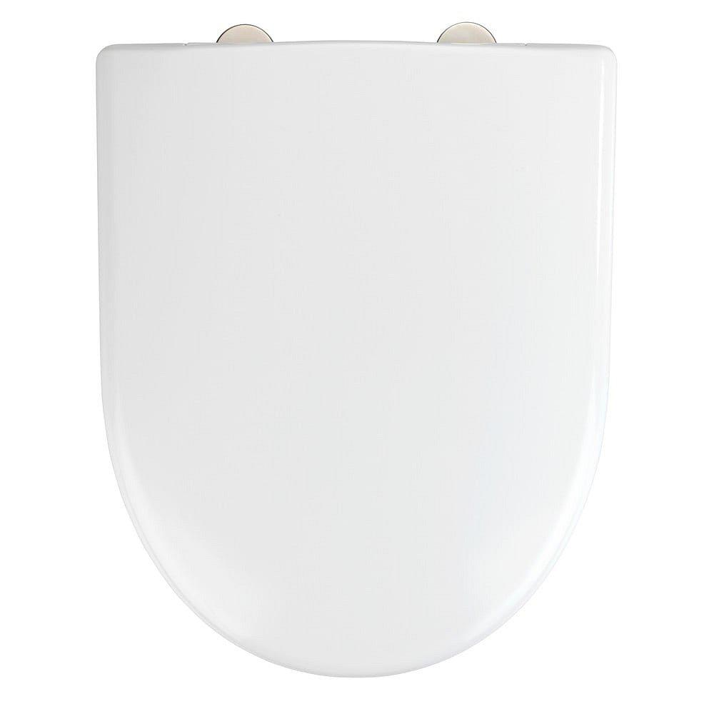 Bílé toaletní prkénko Wenko Exclusive Geberit Renova