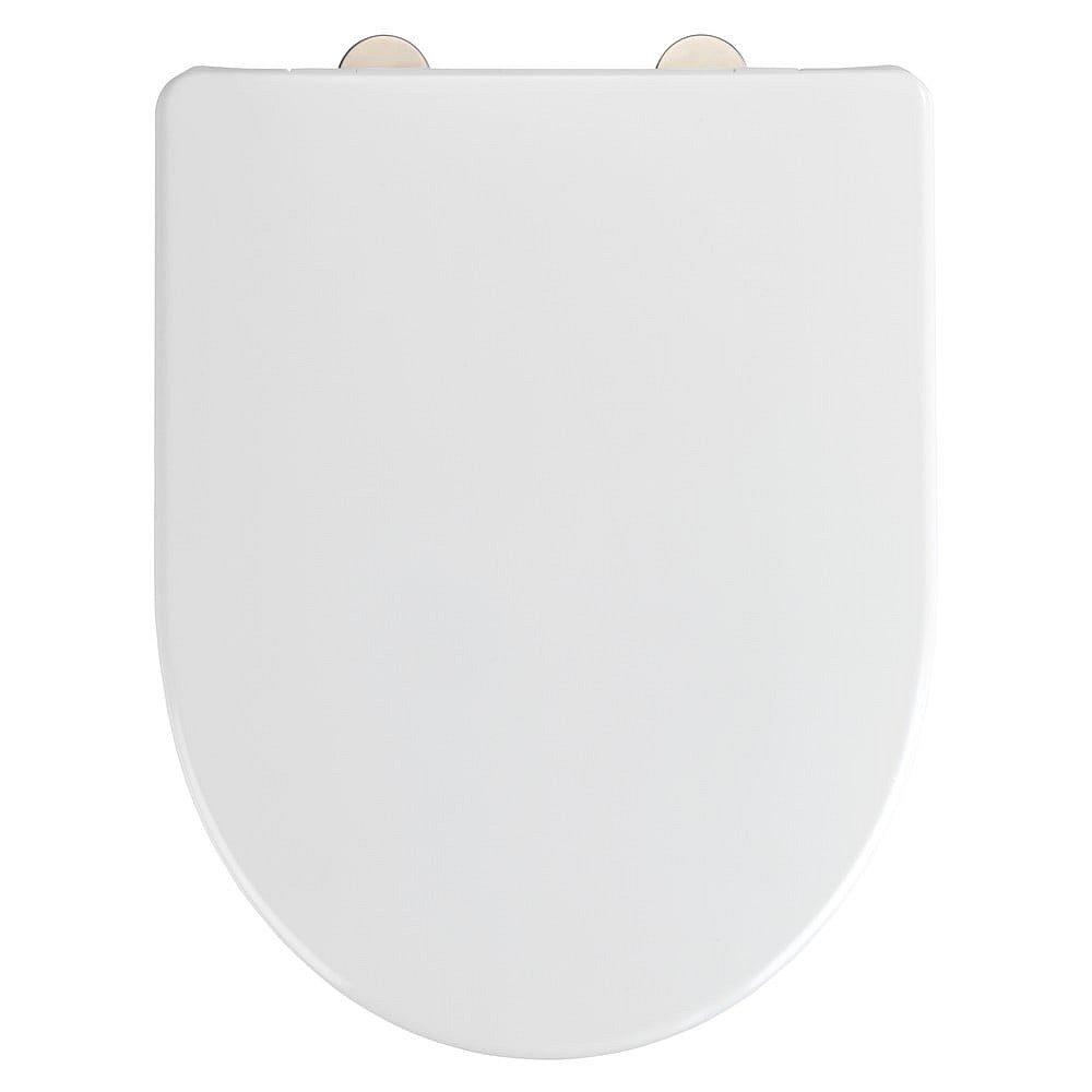 Bílé toaletní prkénko Wenko Exclusive Geberit Renova Icon