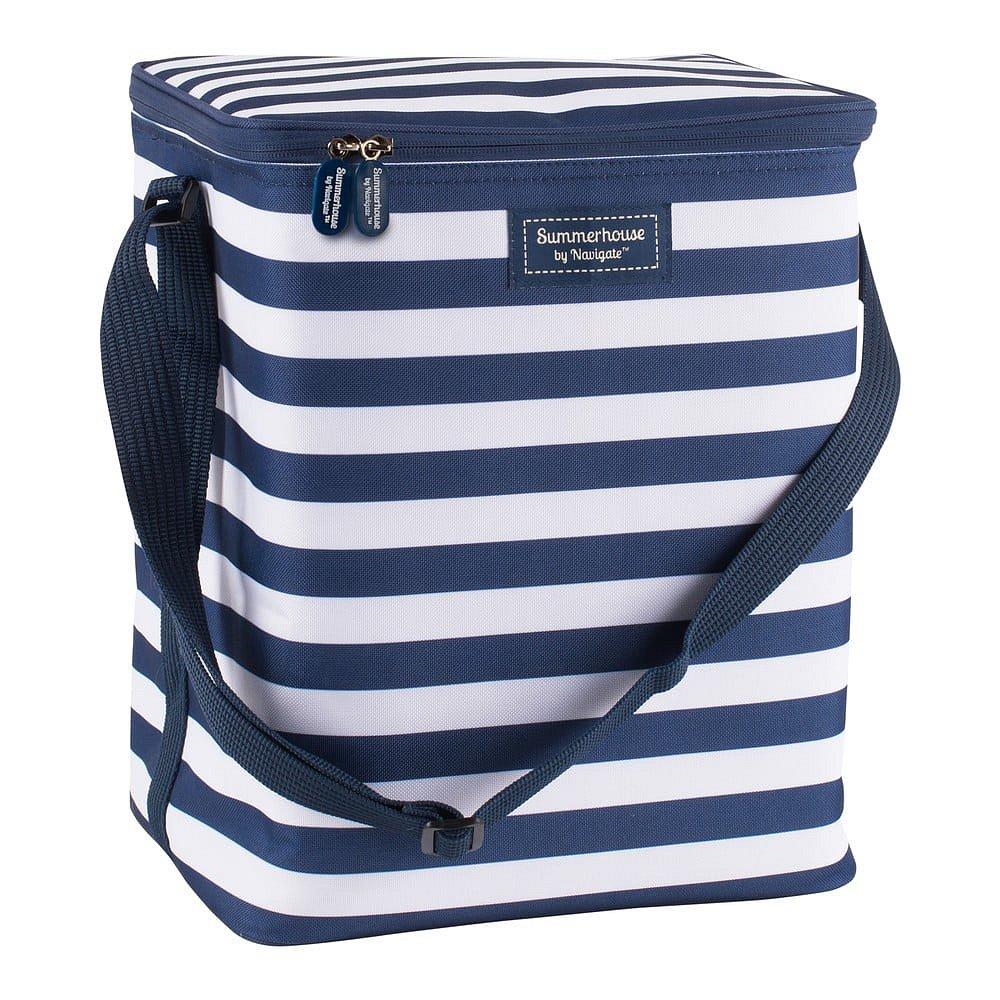 Pruhovaná chladící taška Navigate Upright, 20 l