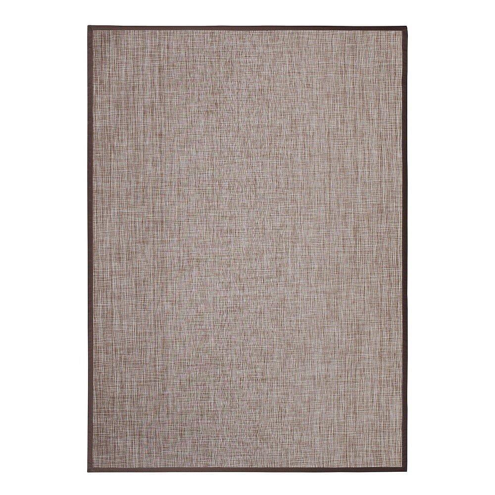 Hnědý venkovní koberec Universal Bios, 170x240cm