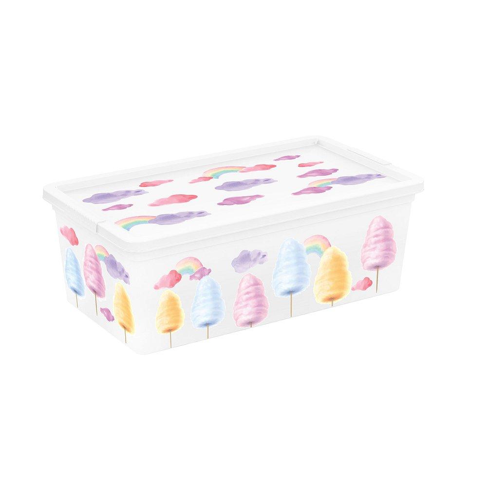 Úložný box velikosti XS motiv Style Portobello