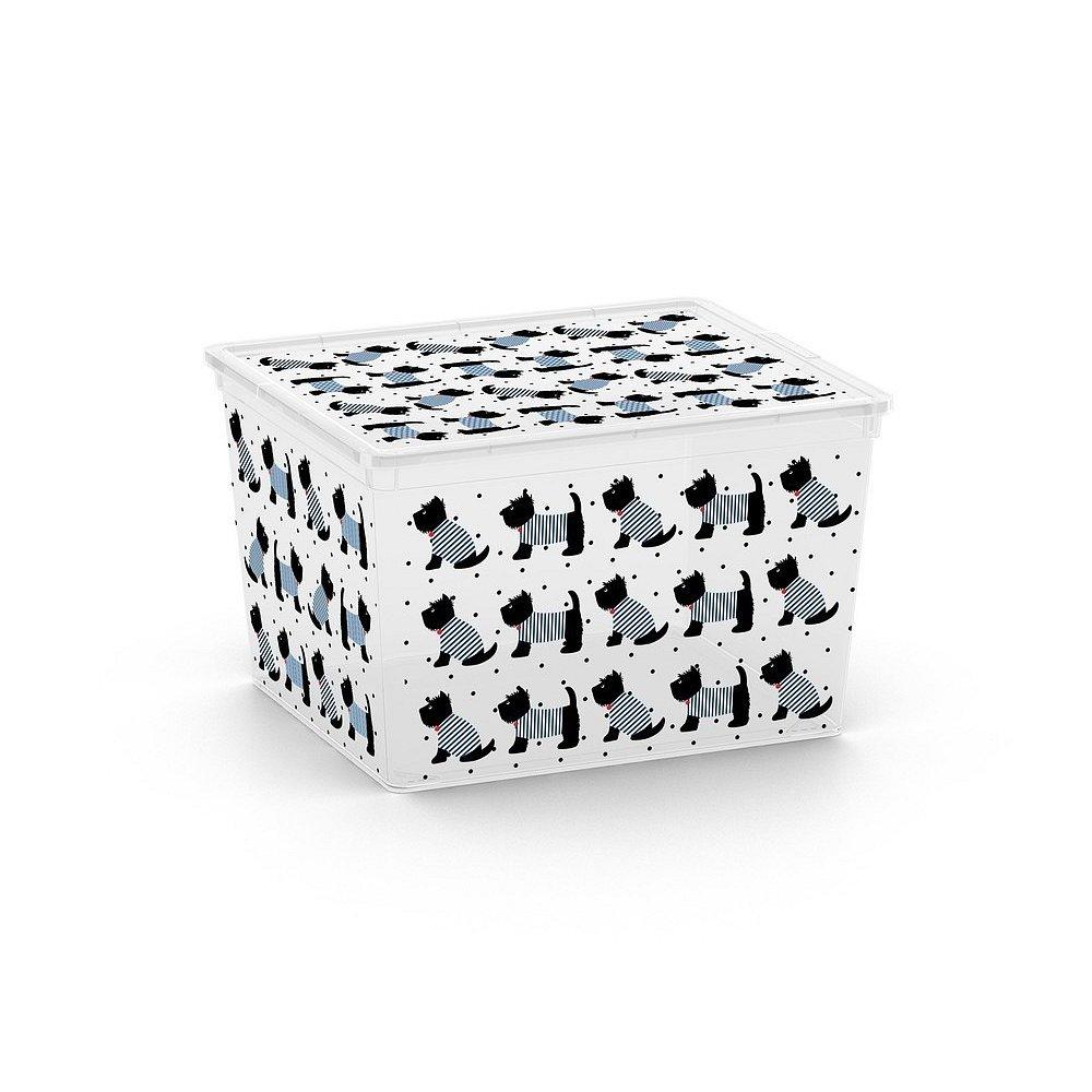 Box C Box Cute Animals Cube - pejsek