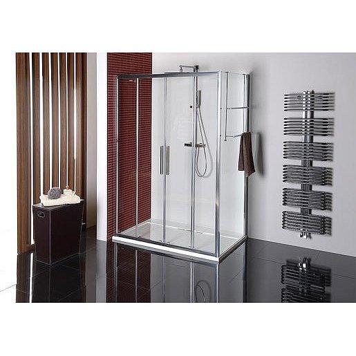Boční zástěna ke sprchovým dveřím 100x200 cm Polysan LUCIS chrom lesklý DL3515