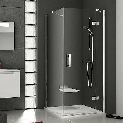 Boční zástěna ke sprchovým dveřím 100x190 cm levá Ravak Smartline chrom lesklý 9SLA0A00Z1
