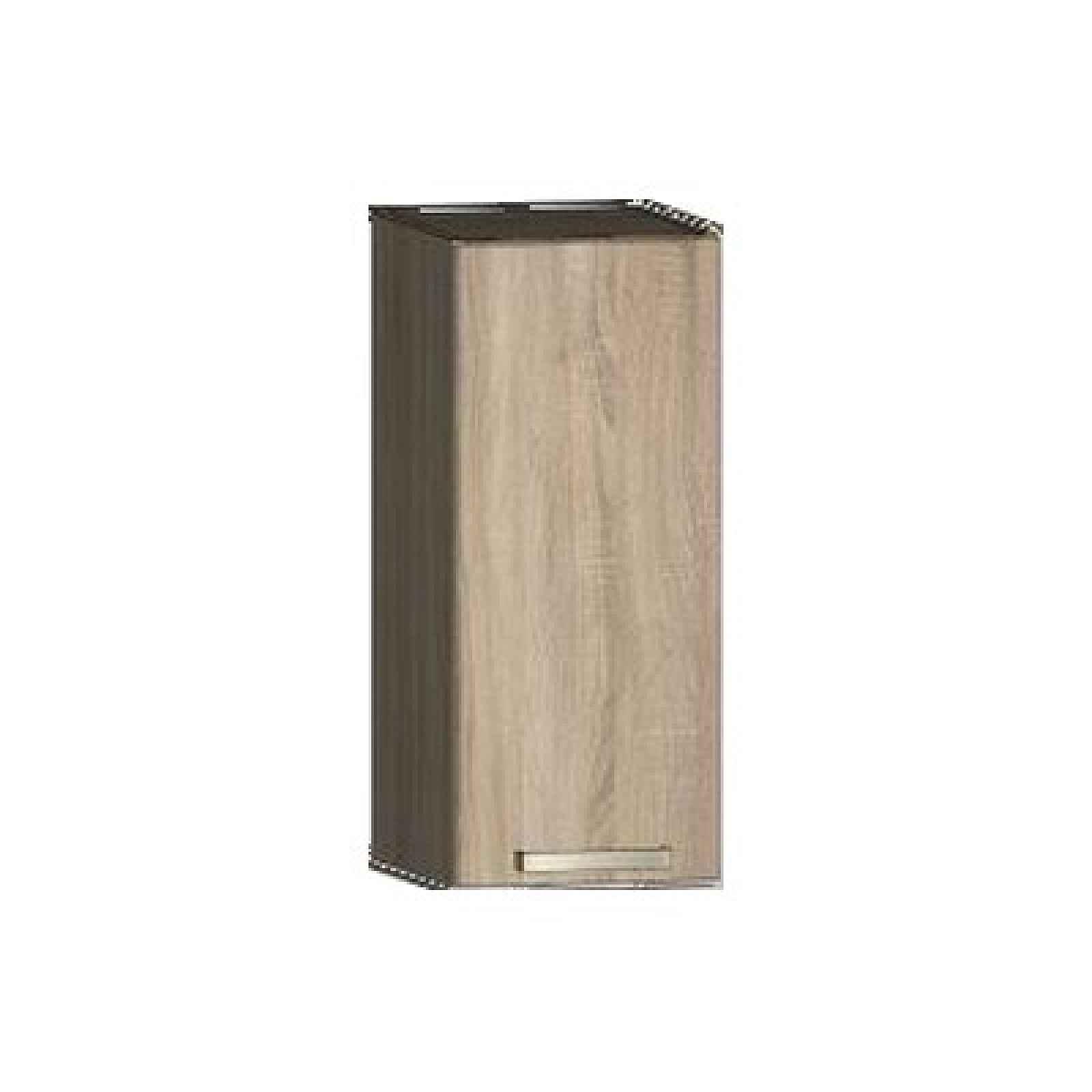 Horní kuchyňská skříňka One EH30, pravá, dub sonoma, šířka 30 cm