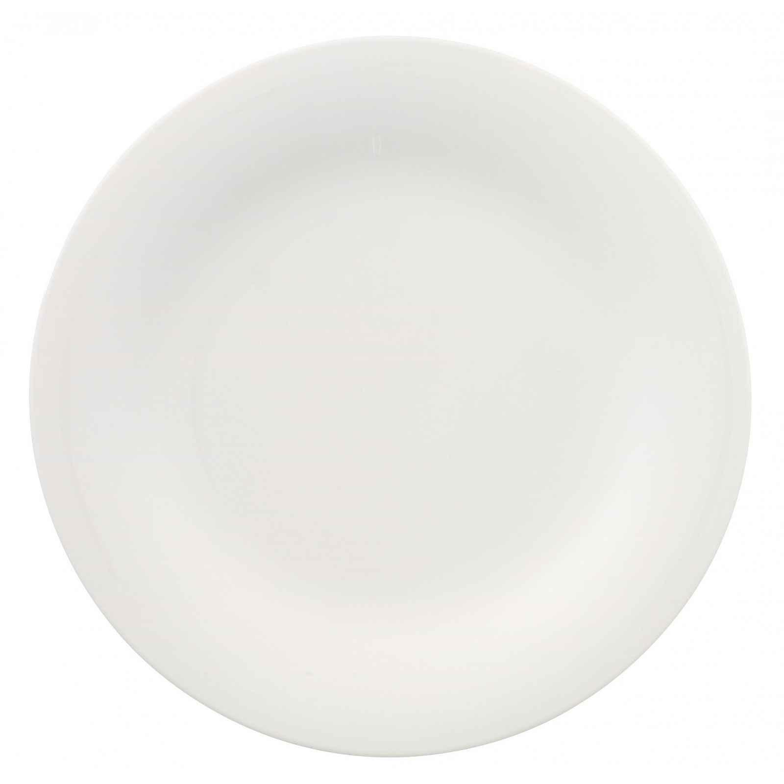 Bílý porcelánový talíř Villeroy & Boch New Cottage, ⌀ 27 cm