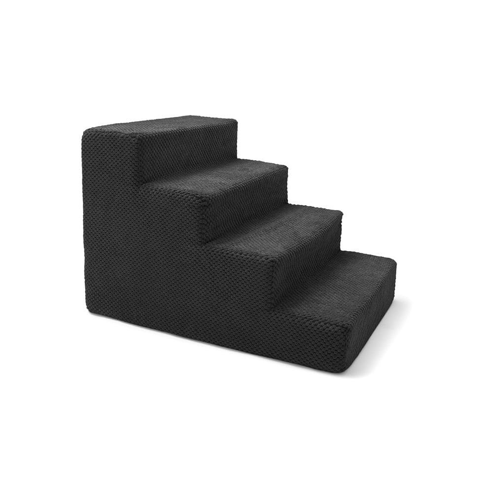 Černé schody pro psy a kočky Marendog Stairs, 40 x 60 x 40 cm