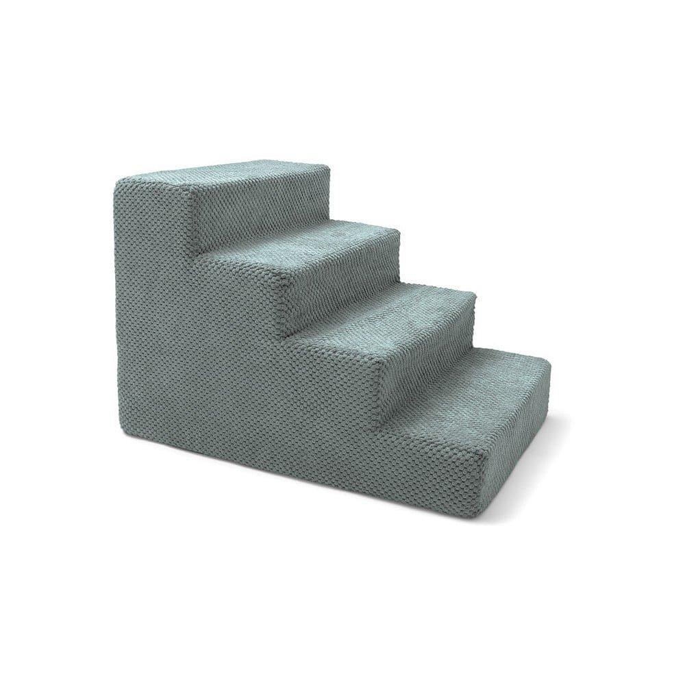 Modrošedé schody pro psy a kočky Marendog Stairs, 40 x 60 x 40 cm