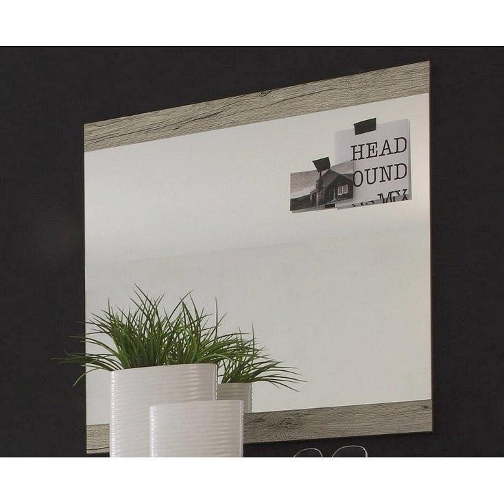 Nástěnné zrcadlo Cancan, dub san remo