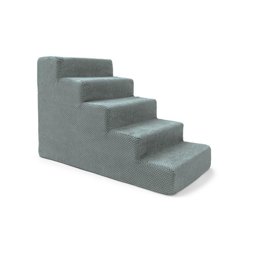 Modrošedé schody pro psy a kočky Marendog Stairs, 40 x 75 x 50 cm