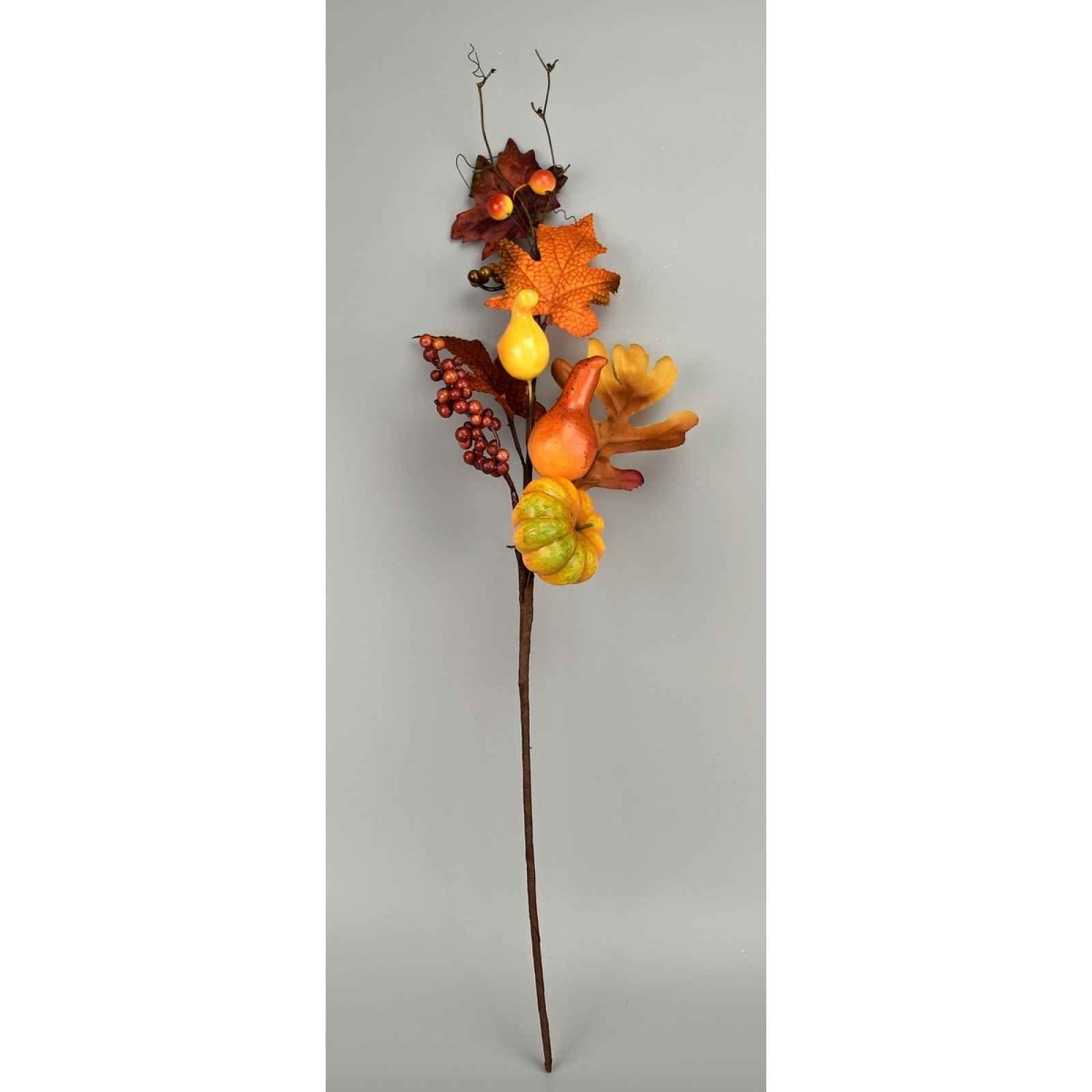 Podzimní dekorativní větvička Jesa, 50 cm