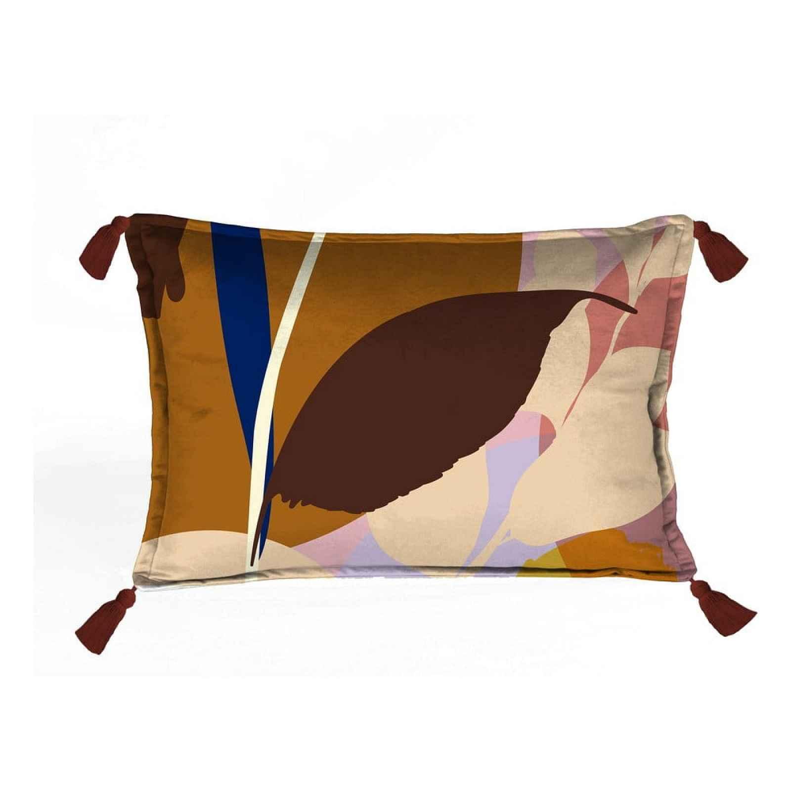 Sametový polštář Velvet Atelier Borlas,50x35cm