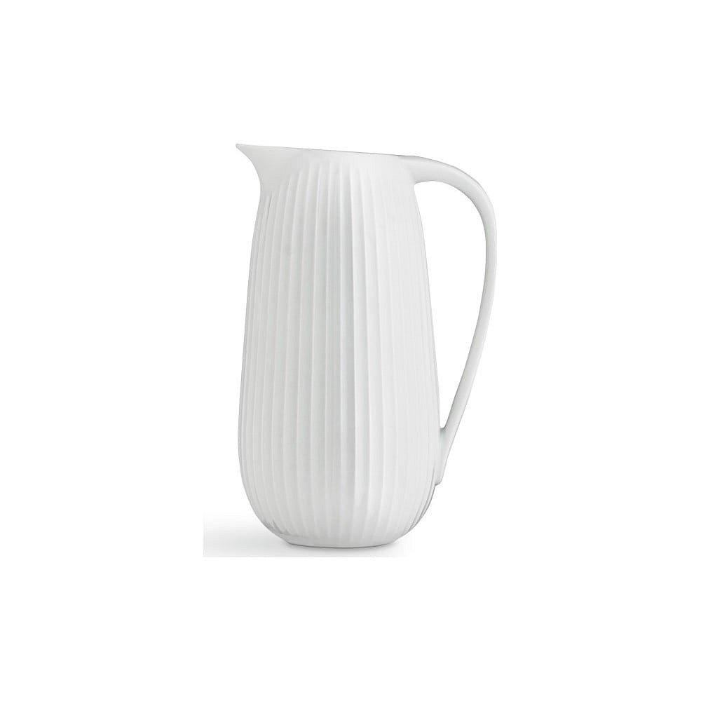 Bílý porcelánový džbán Kähler Design Hammershoi, 1,25 l