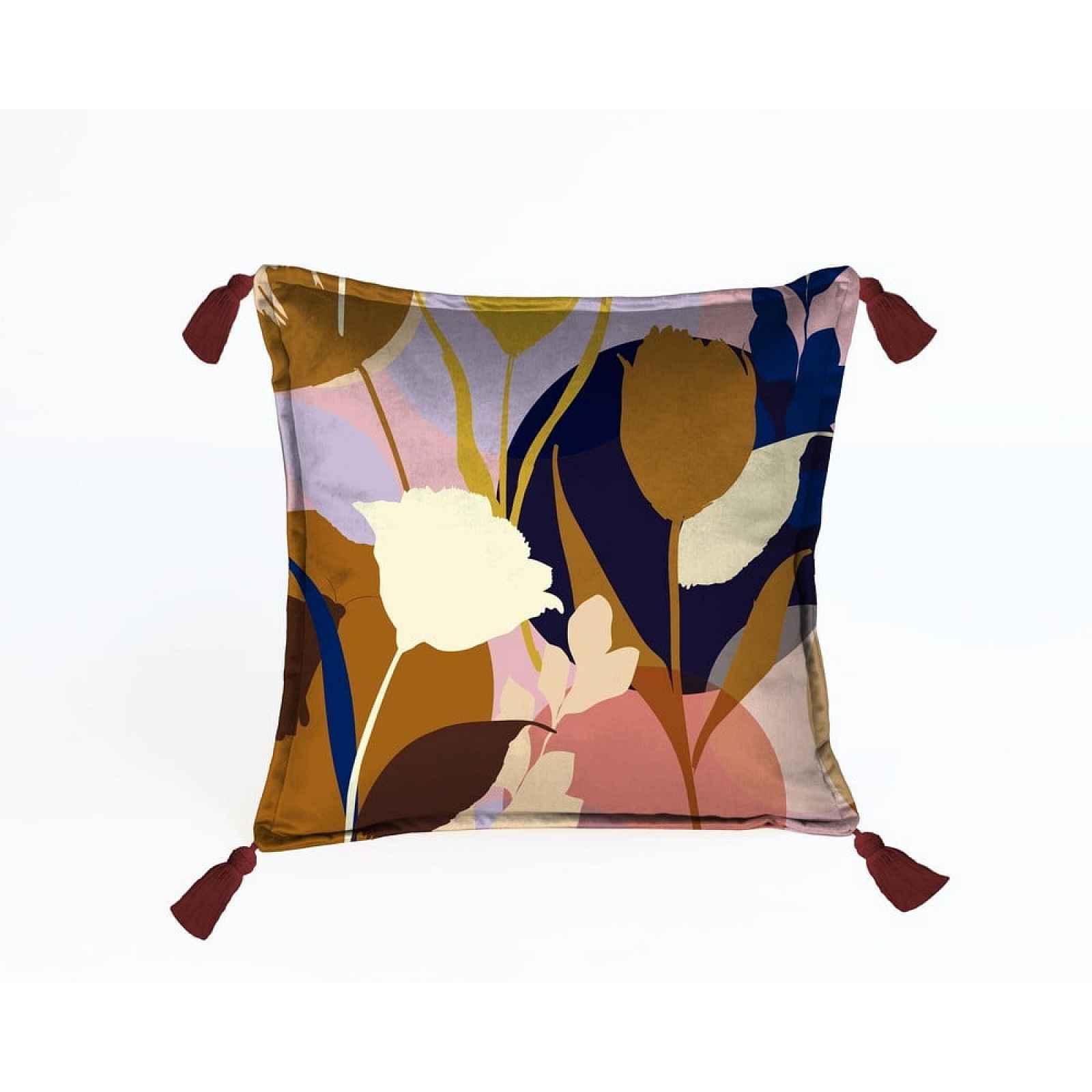 Sametový polštář Velvet Atelier Borlas,45x45cm