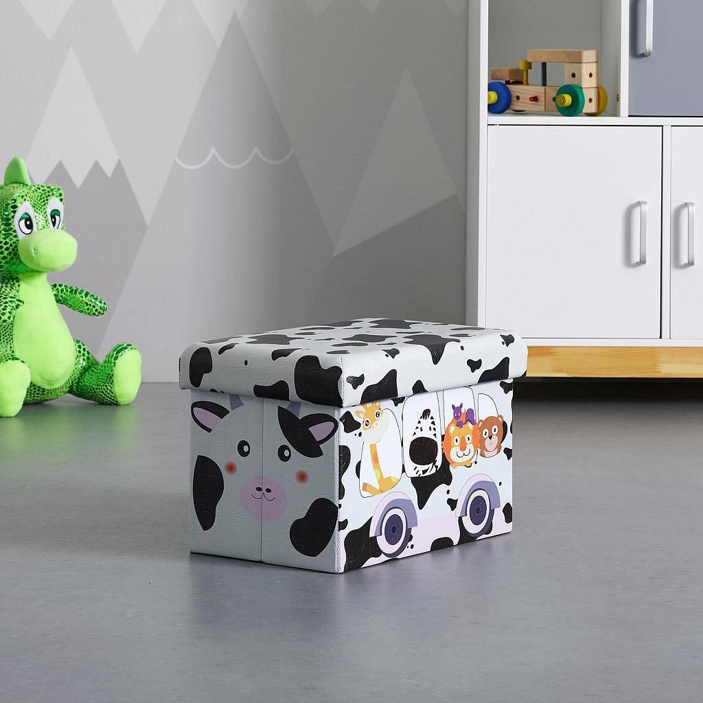 Skládací Box S Potiskem Cow