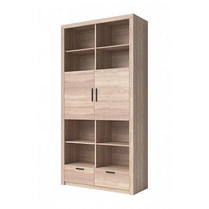 Obývací skříň Nemesis - 2x dveře (dub sonoma)