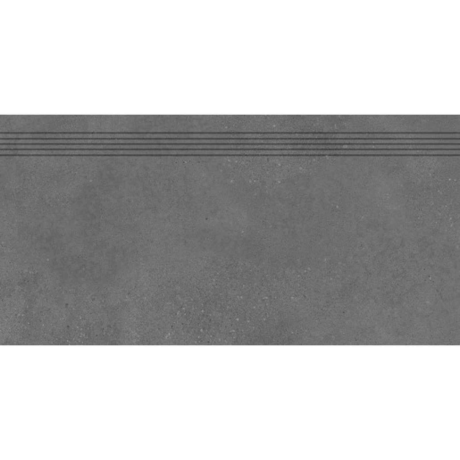Schodovka RAKO Betonico černá 40x80 cm mat DCP84792.1