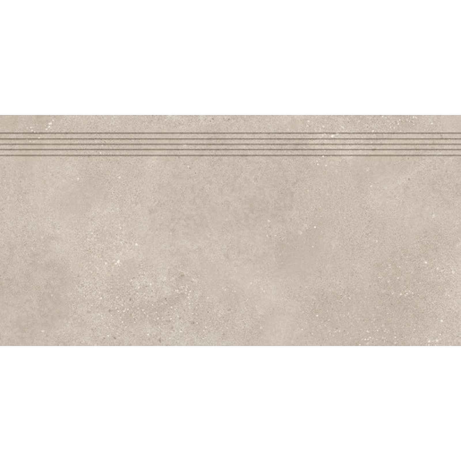 Schodovka RAKO Betonico tmavě béžová 40x80 cm mat DCP84794.1