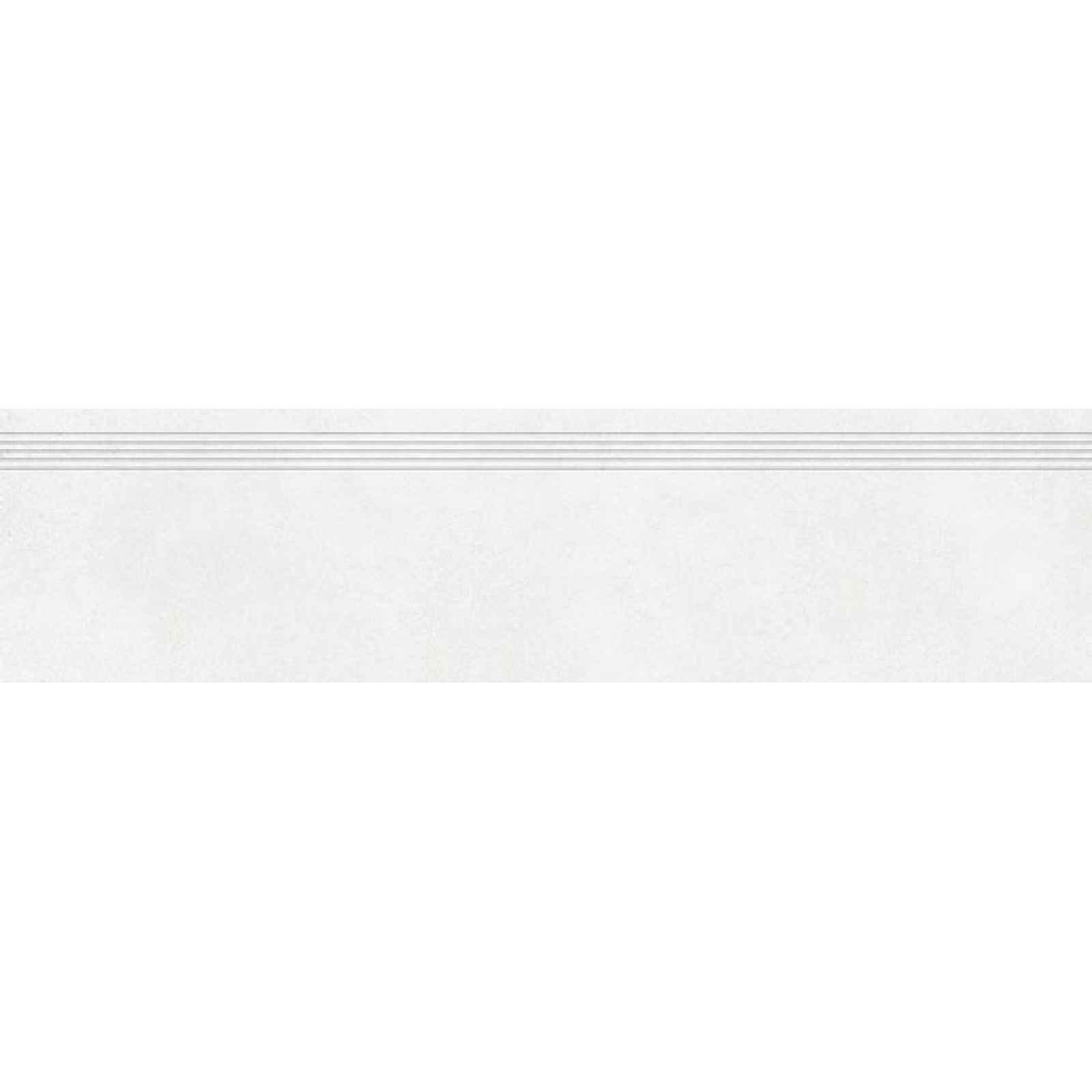 Schodovka RAKO Betonico bílošedá 30x120 cm mat DCPVF790.1