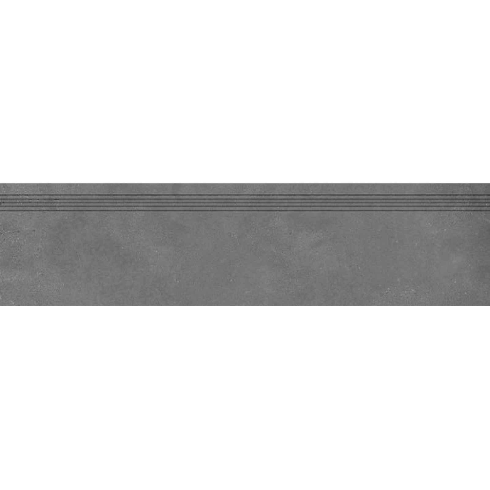 Schodovka RAKO Betonico černá 30x120 cm mat DCPVF792.1