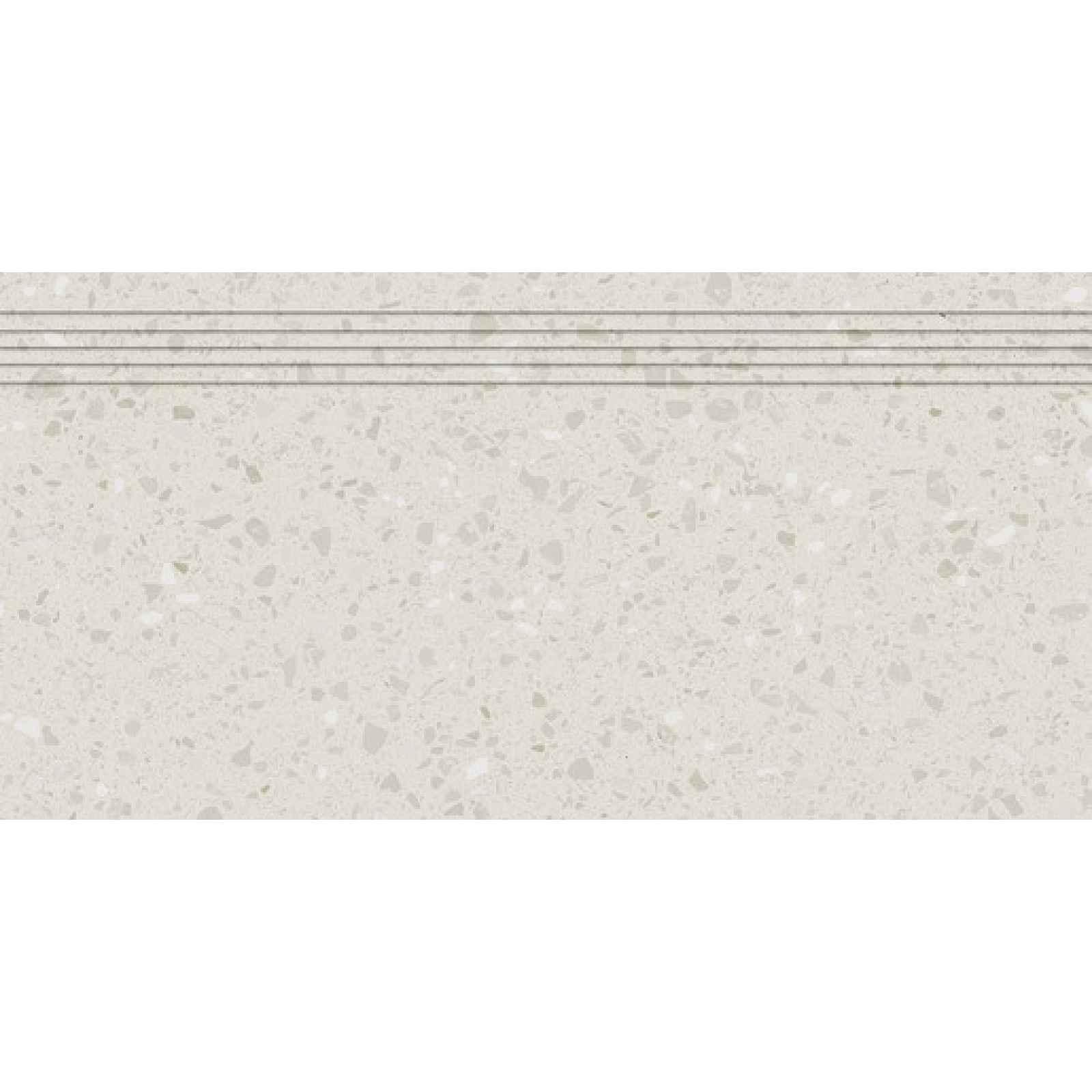 Schodovka RAKO Porfido béžová 30x60 cm mat / lesk DCPSE813.1