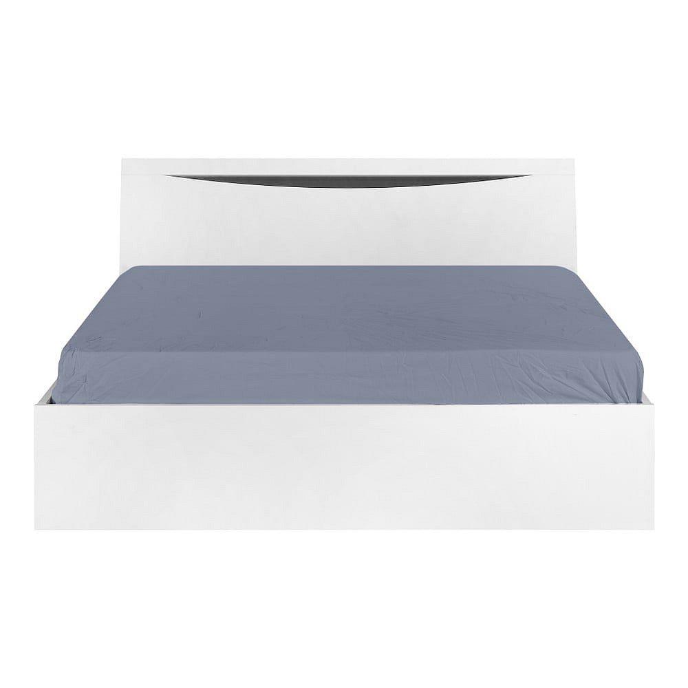 Bílá dvoulůžková postel Artemob Letty, 160 x 200 cm