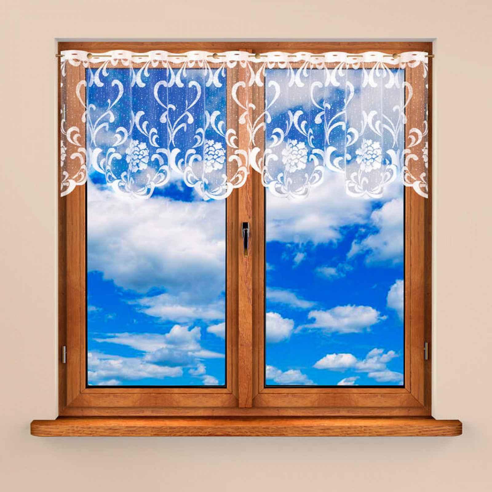 Vitrážková záclona NINA 60 x 300 cm