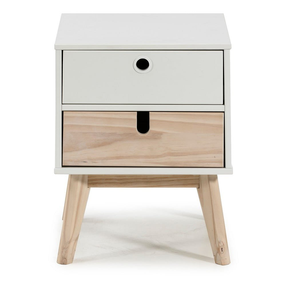 Noční stolek s šuplíky Marckeric Kiara