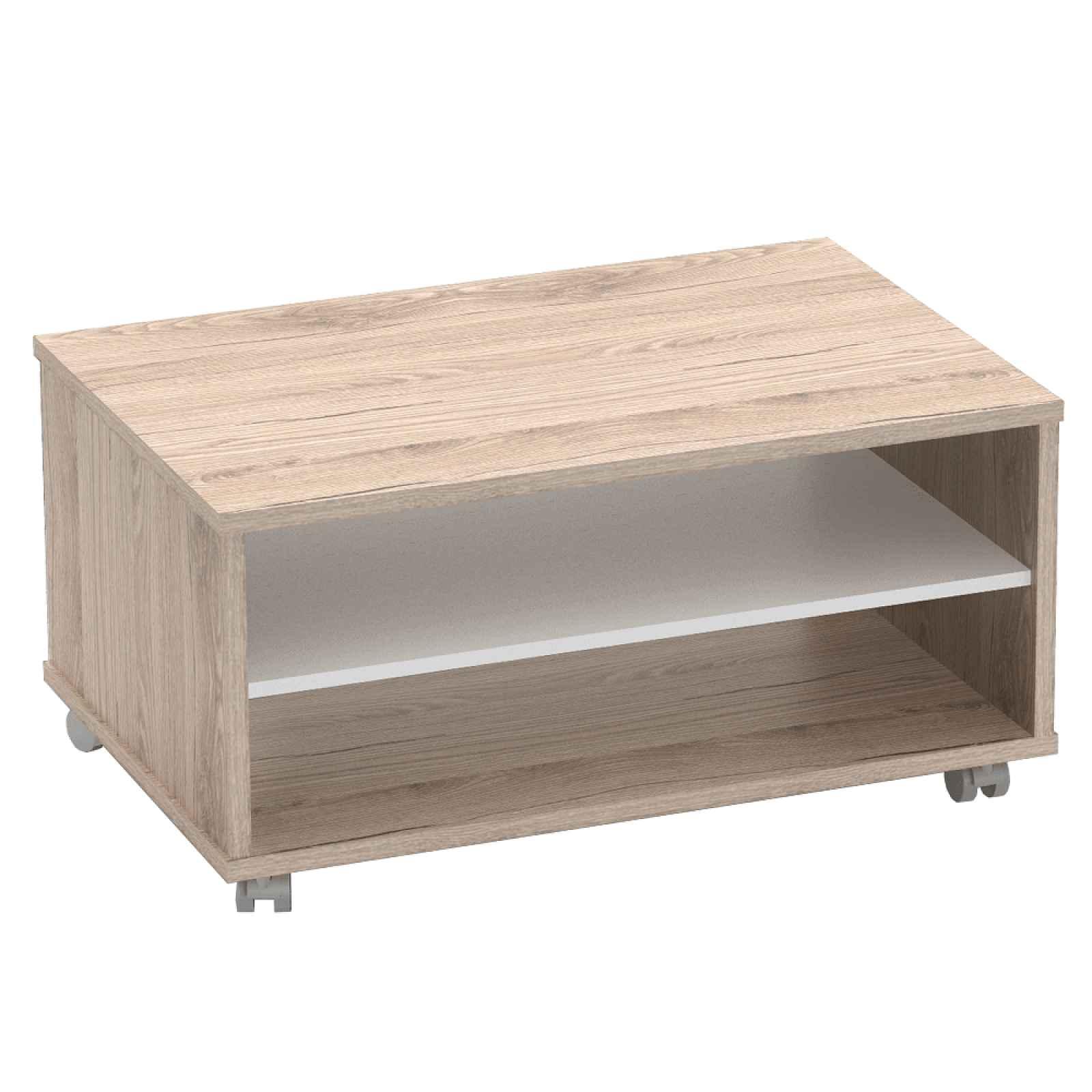 Konferenční stolek RIOMA TYP 32 Tempo Kondela Dub san remo / bílá