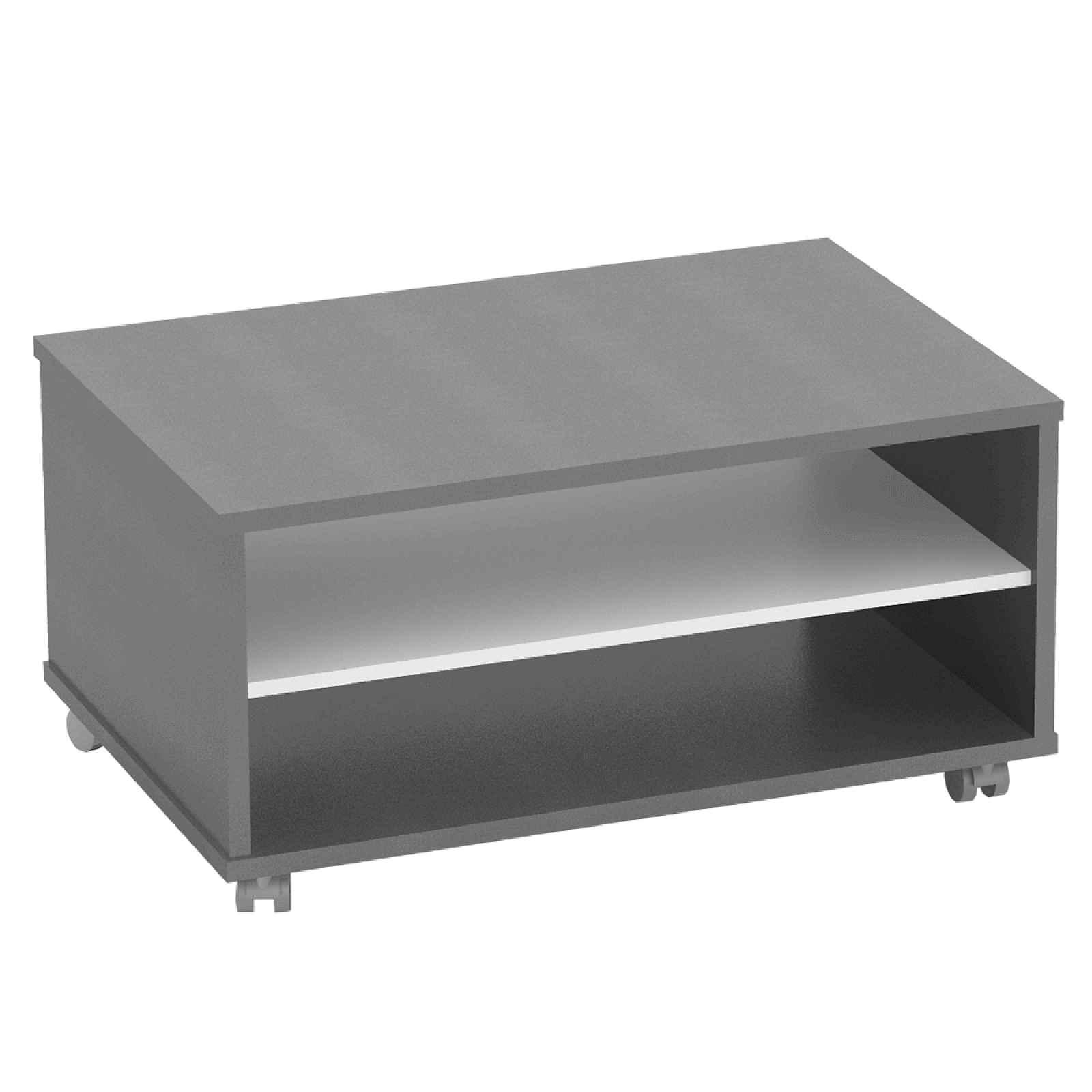 Konferenční stolek RIOMA TYP 32 Tempo Kondela Grafit / bílá