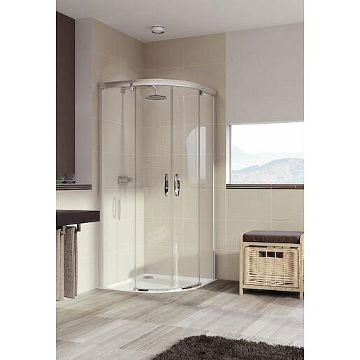 Sprchové dveře 120x120x200 cm Huppe Aura elegance chrom lesklý 402424.092.322