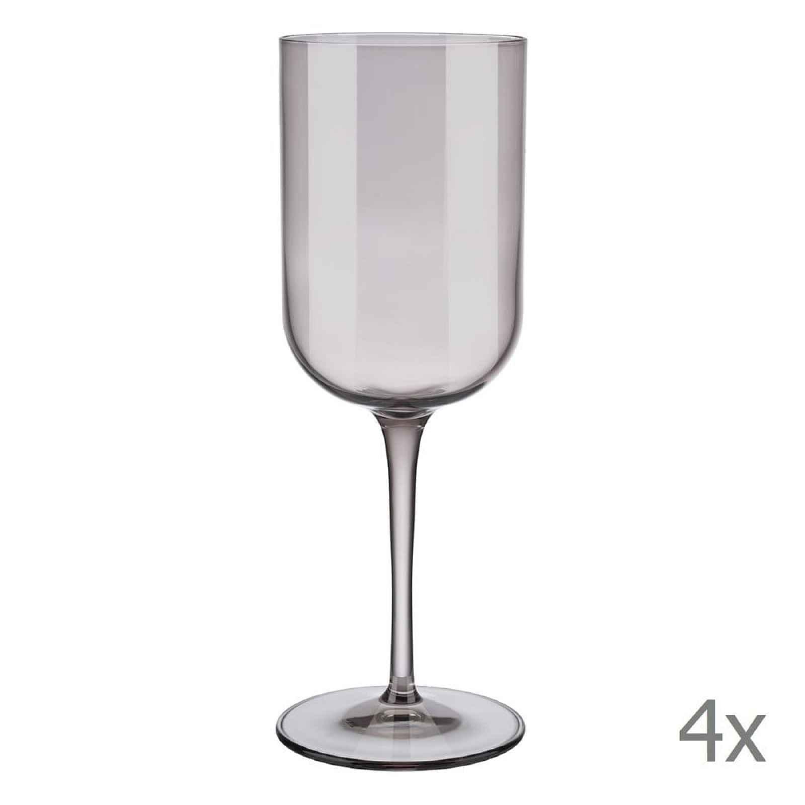 Sada 4 fialových sklenic na červené víno Blomus Mira, 400 ml