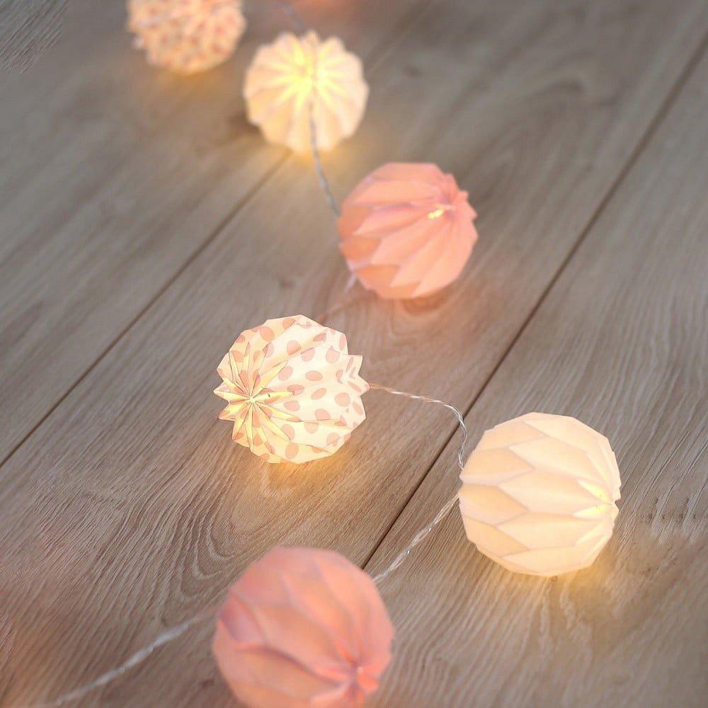 Dekorativní svítící girlanda DecoKing Ball