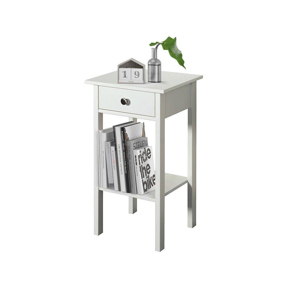 Bílý noční stolek Støraa Tango