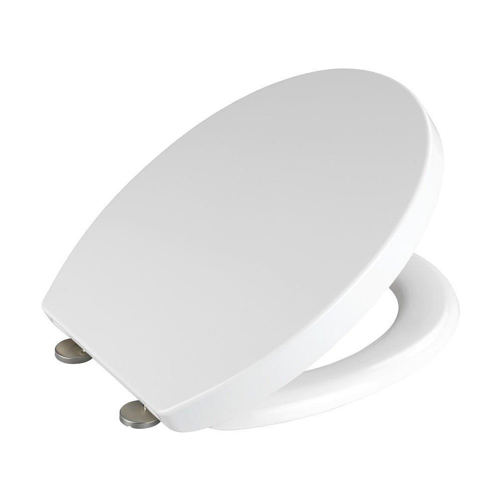 Bílé WC sedátko z duroplastu Wenko Tilos