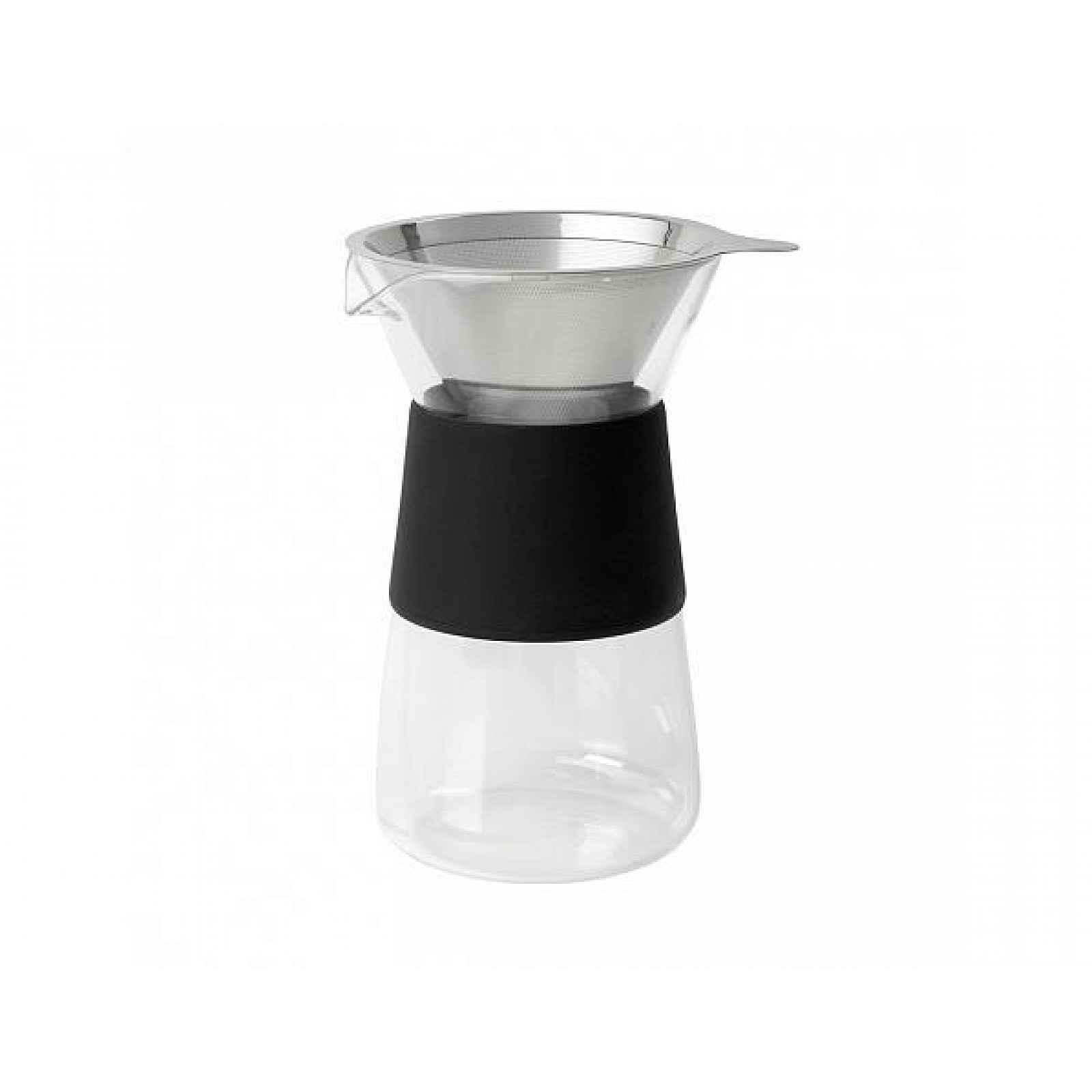 Konvice na výrobu kávy s černými detaily Blomus,800ml