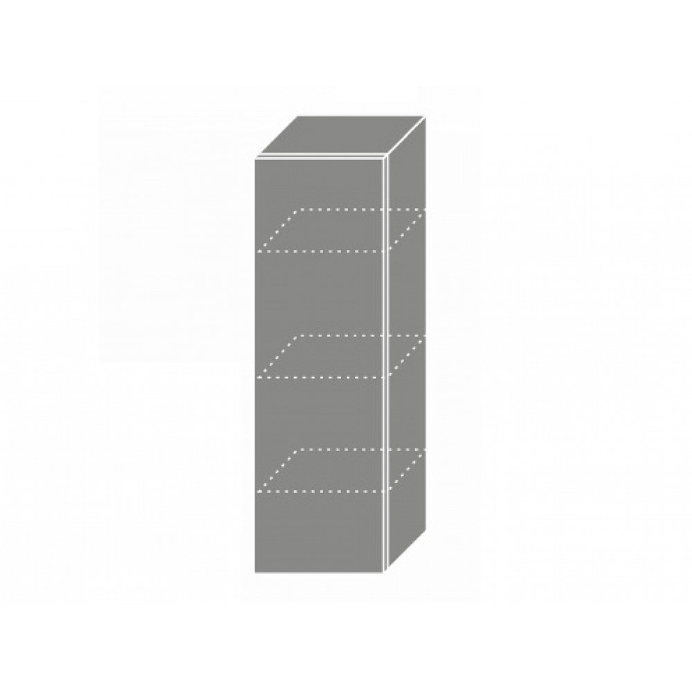 QUANTUM, skříňka horní W4 30, vanilla mat/bílá