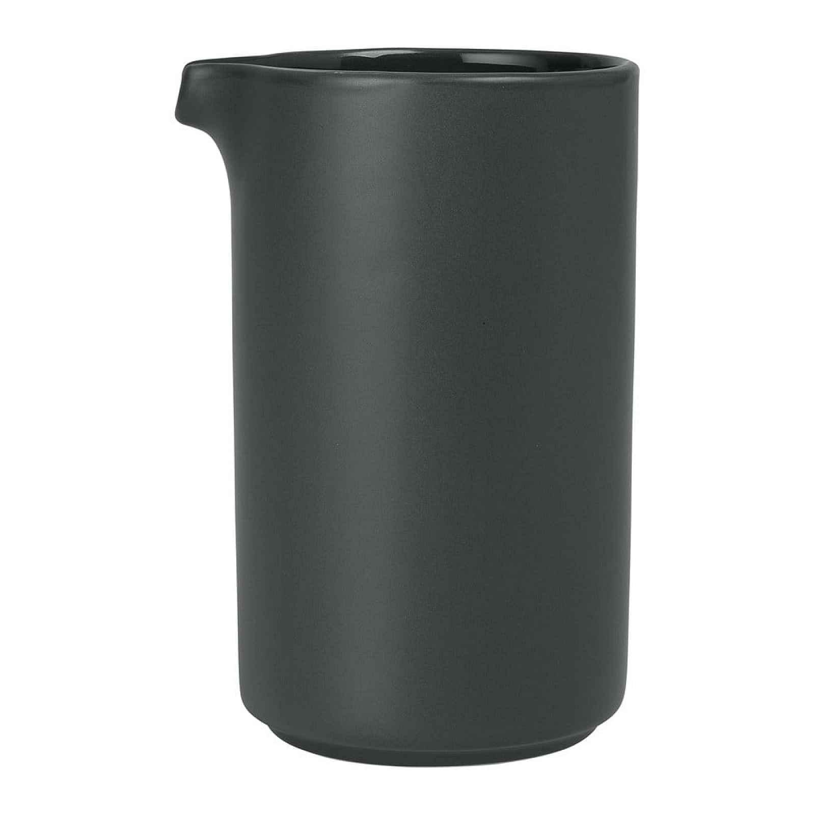 Černý keramický džbánek Blomus Pilar,500ml