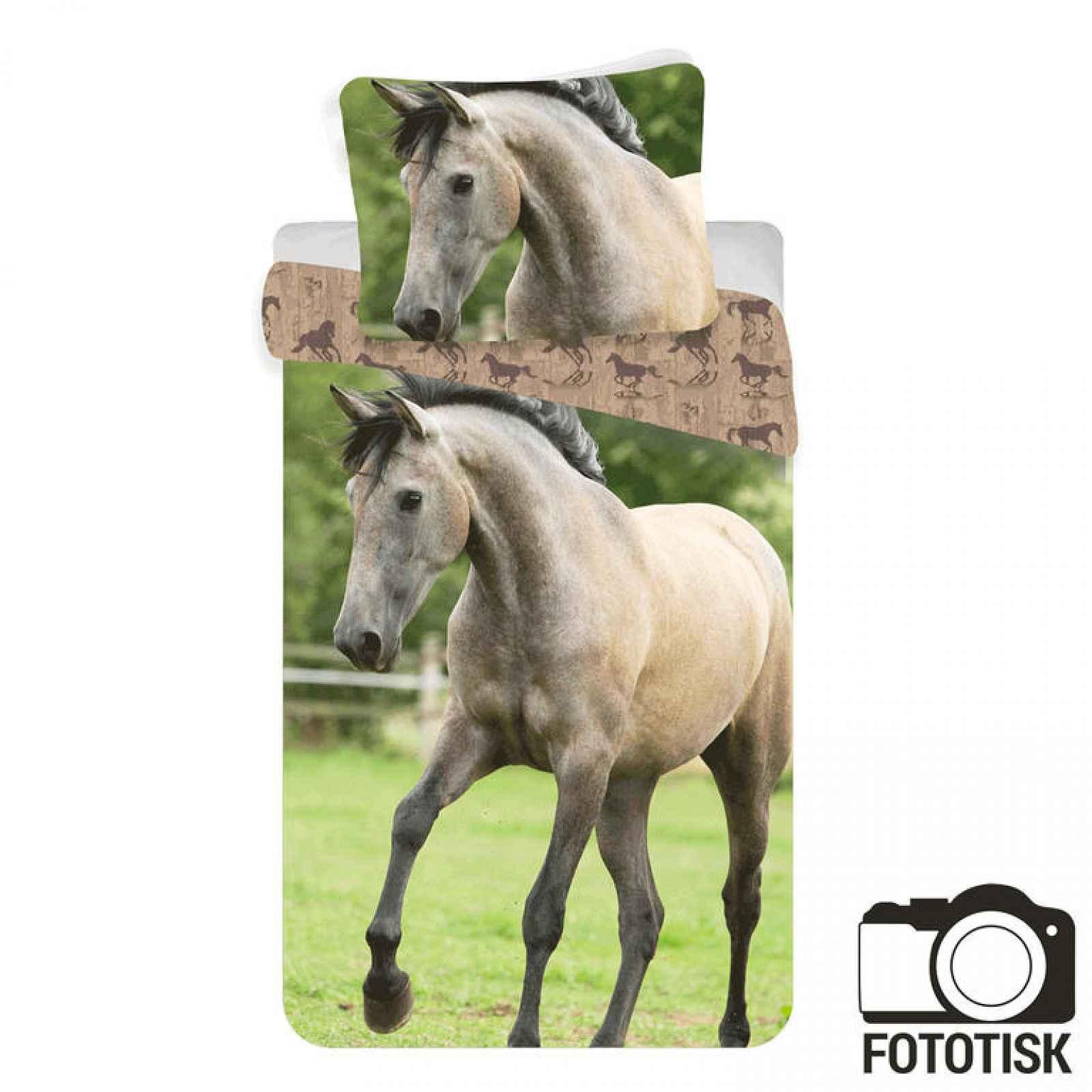 Jerry Fabrics Povlečení Kůň Western bavlna 140x200 70x90