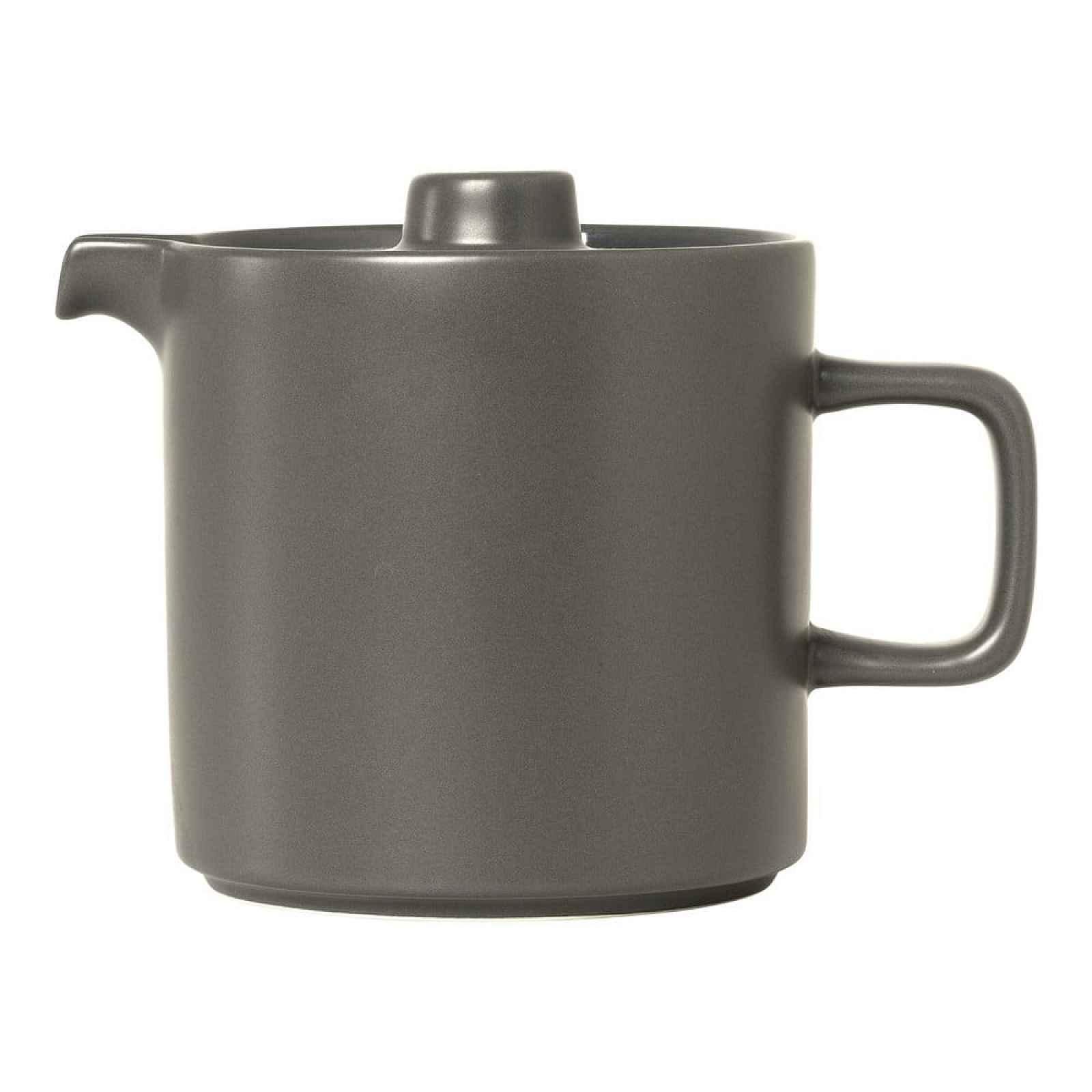 Šedá keramická čajová konvice Blomus Pilar,1l