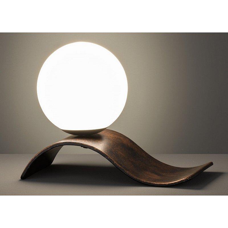 Stolní lampa Lara 508400162, měděná starožitná