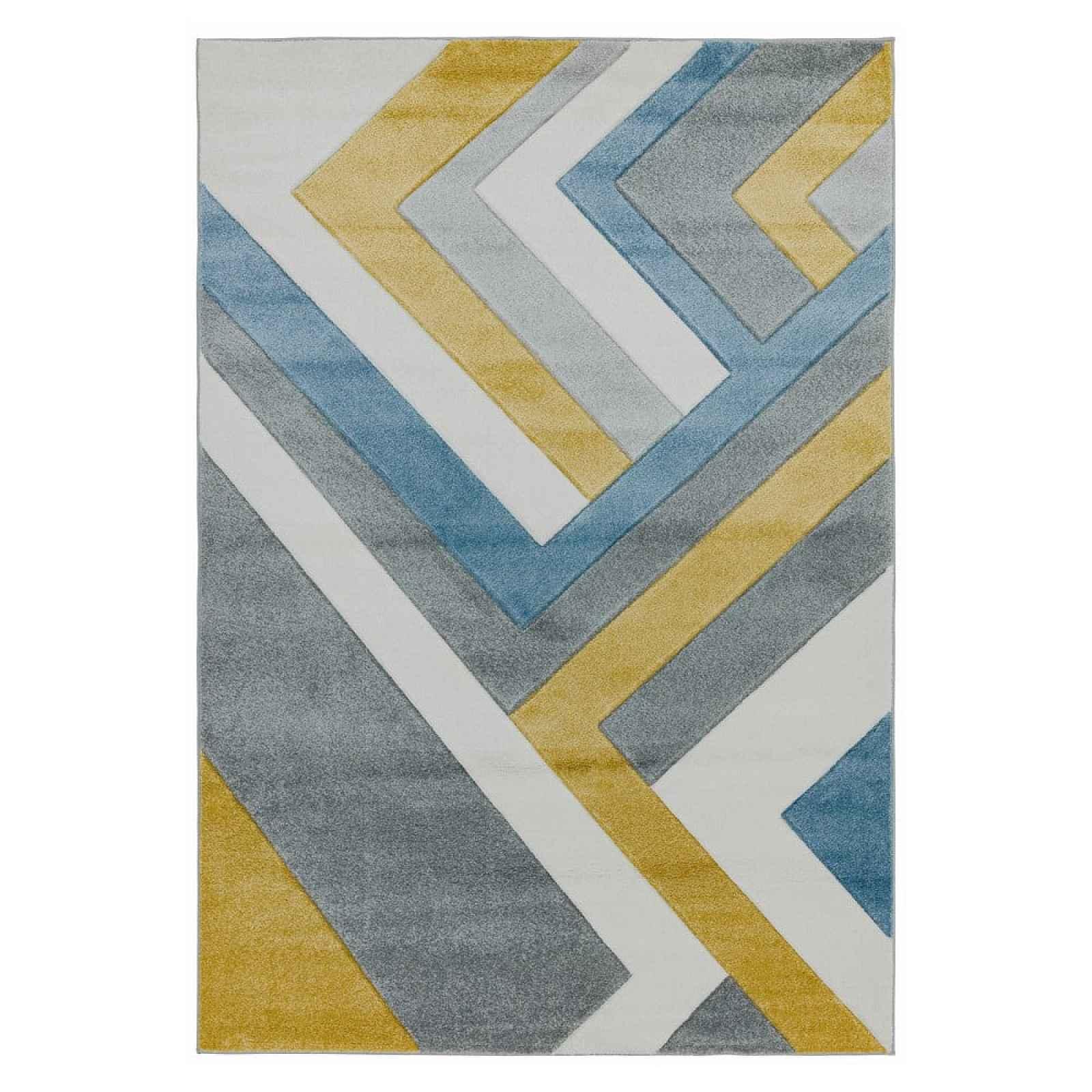 Koberec Asiatic Carpets Linear Multi, 160 x 230 cm