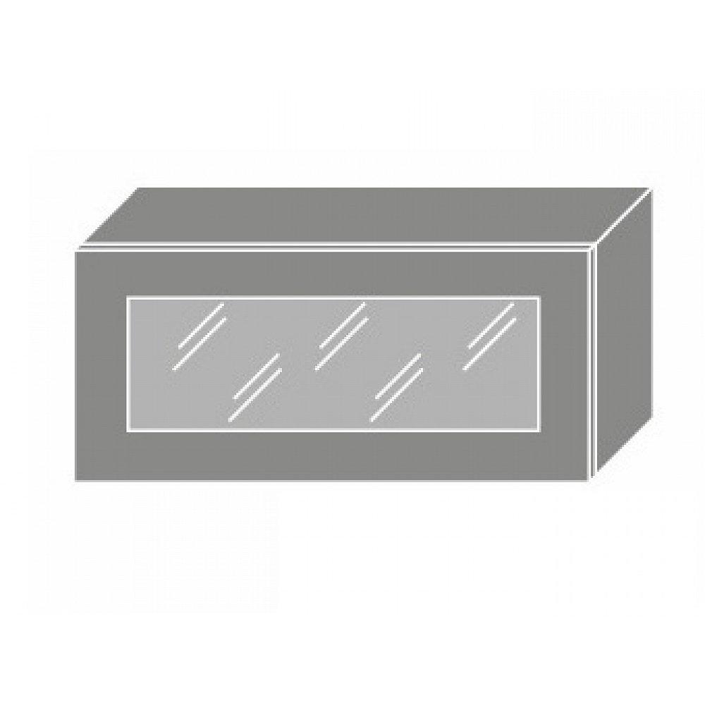 QUANTUM, skříňka horní W4bs 80 WKF, vanilla mat/bílá