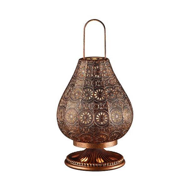 Stolní lampa Jasmin 503700162, měděná