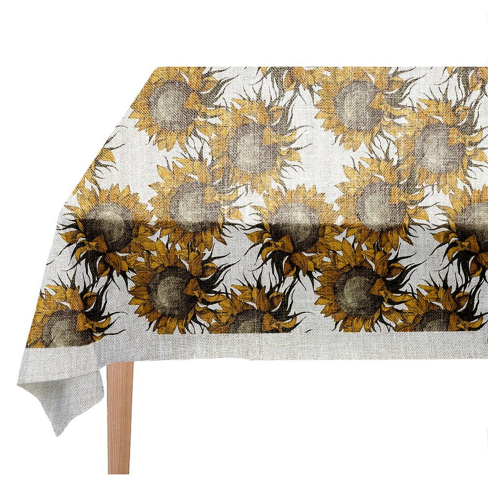 Ubrus Linen Couture Sunflower, 140 x 200 cm